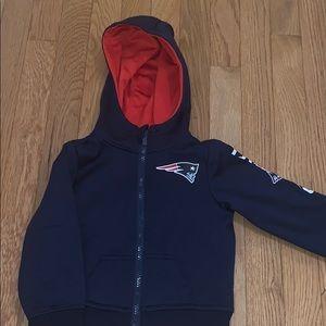 NFL Team Apparel Patriots Sweatshirt 2T